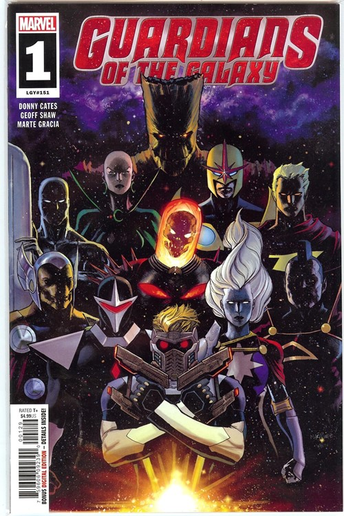 (Marvel) Cover for Guardians Of The Galaxy #1 Walmart Exclusive Variant Cover