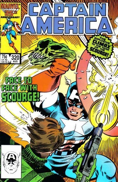 (Marvel) Cover for Captain America #320