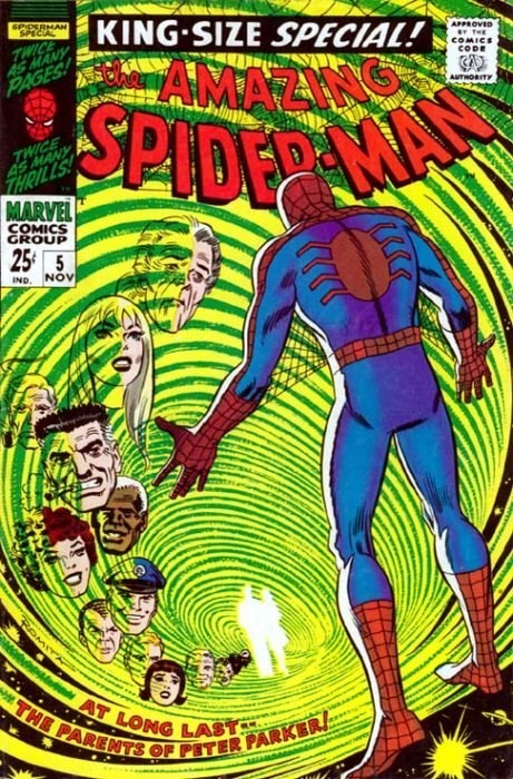 (Marvel) Cover for Amazing Spider-Man, The #5 1st Parker parents