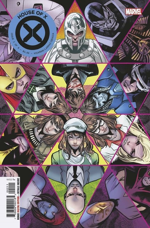 (Marvel) Cover for House Of X #2 Dr. Moira MacTaggert Revealed as a Mutant. Now possibly the most Powerful of all Mutants