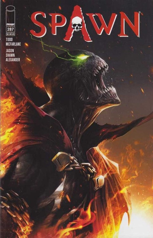 (Image) Cover for Spawn #287