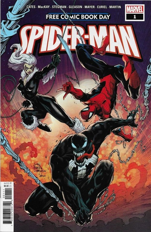 (Marvel) Cover for Spider-Man/Venom #1 Free Comic Book Day 2020