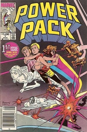 Comic Cover for Power Pack (#1)