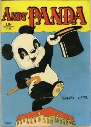 Comic Cover for Andy Panda (Four-Color) (#25)