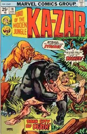 Comic Cover for Ka-Zar (#10)