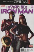 INVINCIBLE IRON MAN #7C  Variant Cover Mike Deodato Third Printing Variant Cover