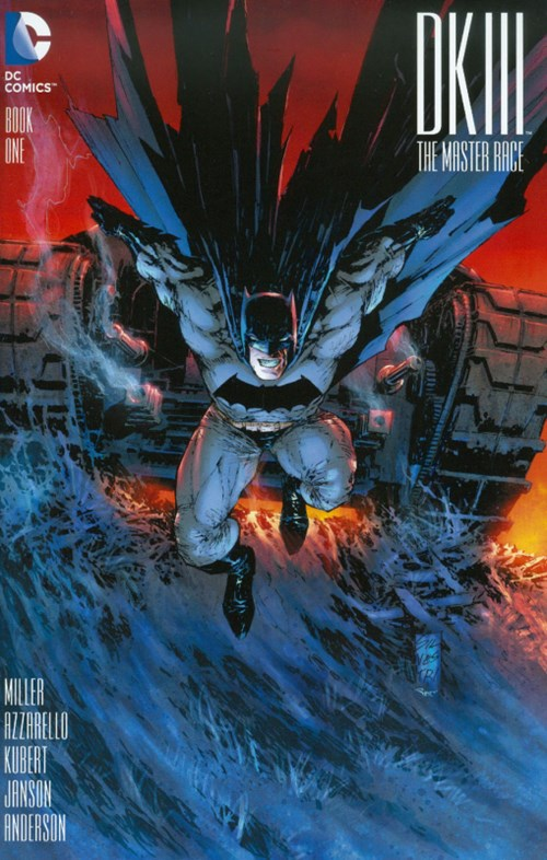 (DC) Cover for Dark Knight Iii: The Master Race #1 Midtown Comics Exclusive Variant Cover by Marc Silvestri