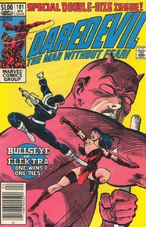 Comic Cover for Daredevil (#181)