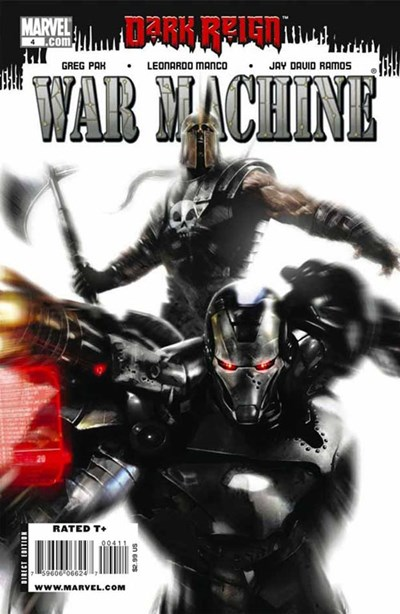(Marvel) Cover for War Machine #4