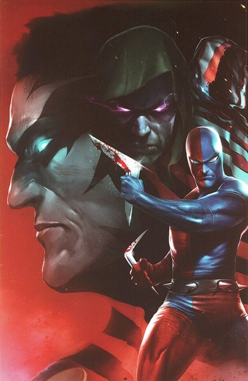 (Dynamite Entertainment) Cover for Project Superpowers: Chapter Three #2 Francesco Mattina Virgin Incentive Cover. Limited 1 for 25.