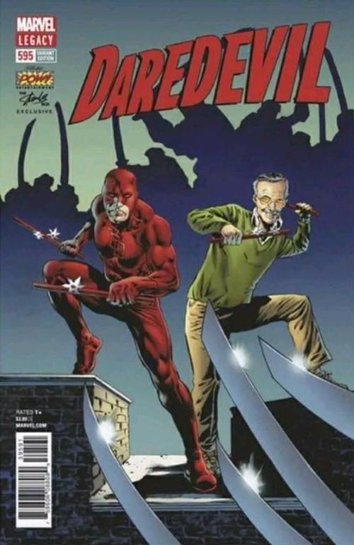 (Marvel) Cover for Daredevil #595 Stan Lee Comic Box Exclusive