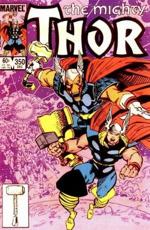 (Marvel) Cover for Thor #350 Direct Edition