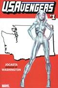 U.S.AVENGERS #1CCC  Variant Cover Rod Reis Washington State Variant Cover
