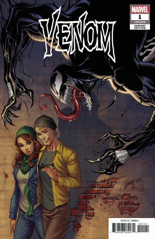 (Marvel) Cover for Venom #1 J. Scott Campbell Variant Cover. Limited 1 for 50.