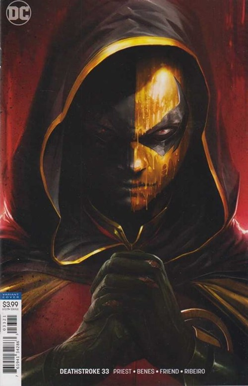(DC) Cover for Deathstroke #33 Francesco Mattina Variant Cover