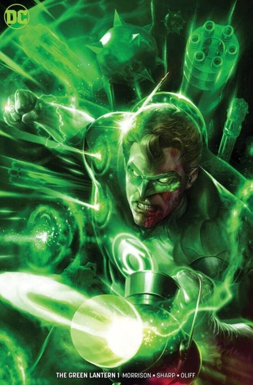 (DC) Cover for Green Lantern, The #1 Frankie's Comics Exclusive Francesco Mattina Minimal Variant Limited to 600