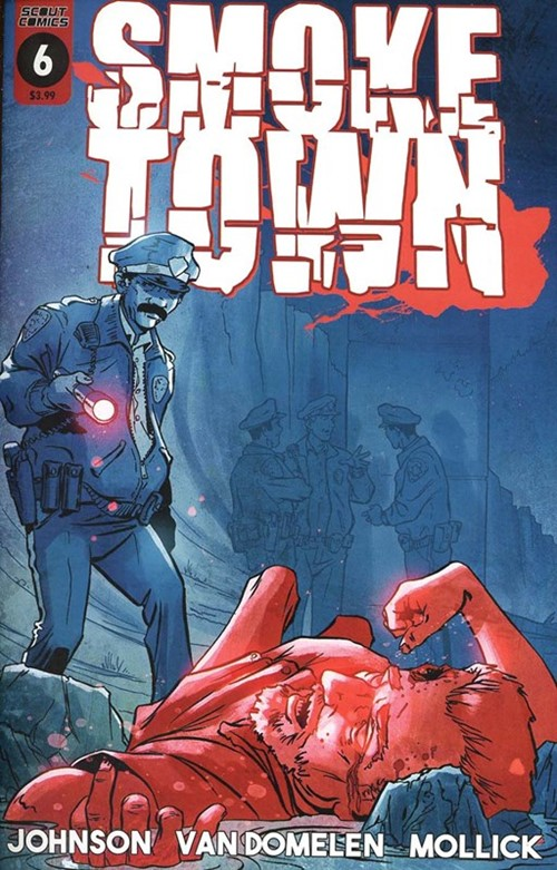 (Scout Comics) Cover for Smoketown #6
