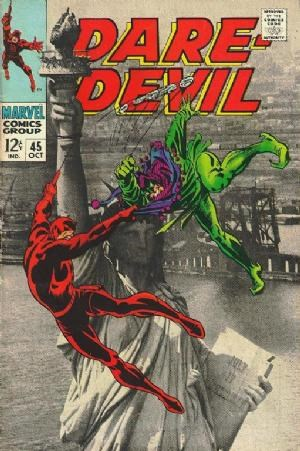 (Marvel) Cover for Daredevil #45 Classic Photo Cover, Jester Appearance