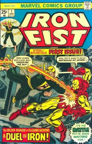 Comic Cover for Iron Fist (#1)