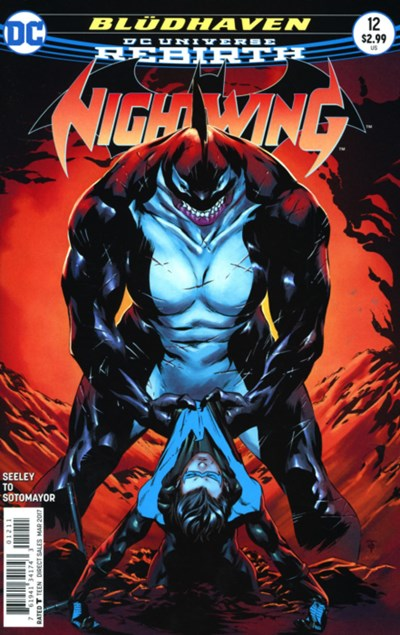 Comic Cover for Nightwing (#12)
