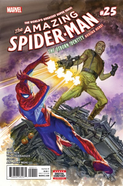 (Marvel) Cover for Amazing Spider-Man, The #25