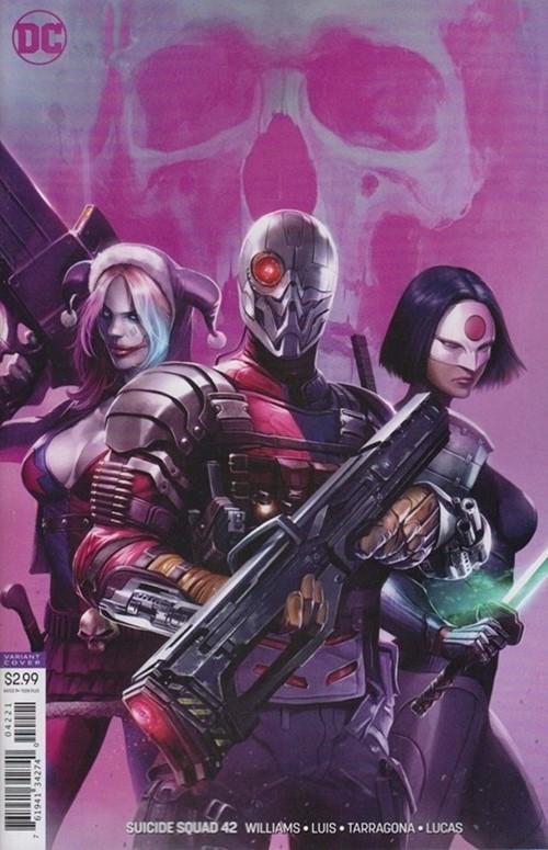 (DC) Cover for Suicide Squad #42 Francesco Mattina Variant Cover