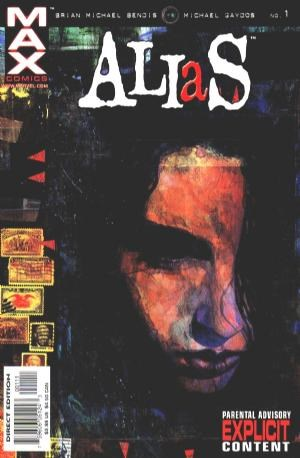 Comic Cover for Alias (#1)