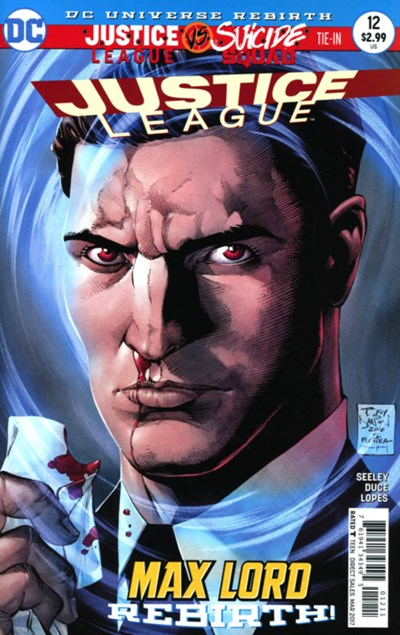 Comic Cover for Justice League (#12)