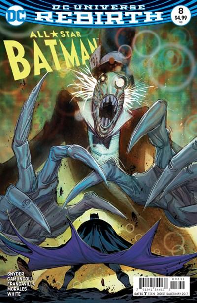 Comic Cover for All-Star Batman (#8)