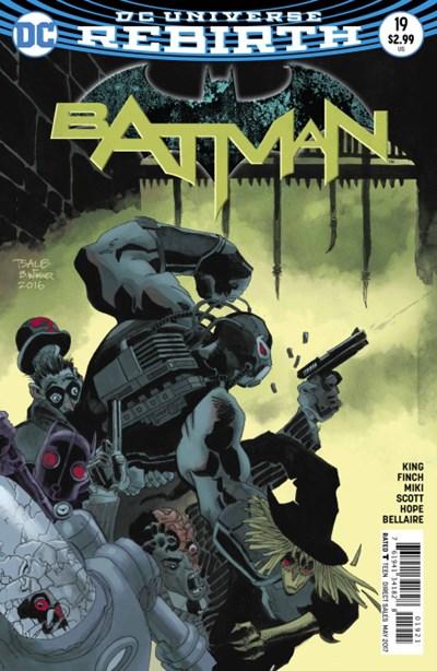 Comic Cover for Batman (#19)