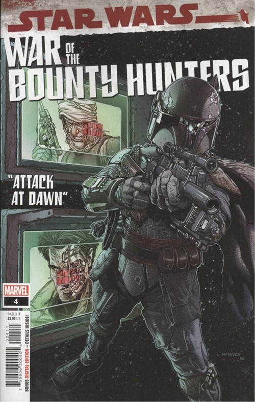 (Marvel) Cover for Star Wars: War Of The Bounty Hunters #4