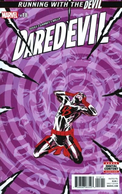 Comic Cover for Daredevil (#18)