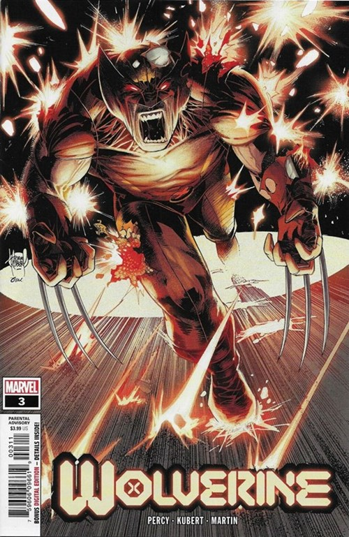 (Marvel) Cover for Wolverine #3