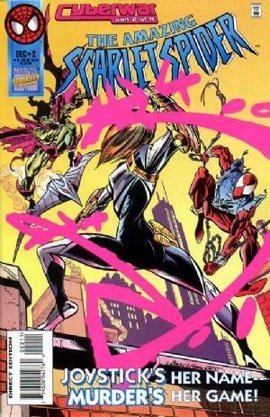 (Marvel) Cover for Amazing Scarlet Spider #2 Meets new Green Goblin.  1st App. Joystick