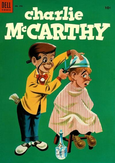 (Dell) Cover for Charlie Mccarthy (Four Color) #478 (7/53).