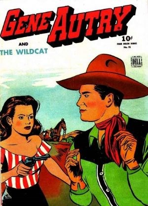 Comic Cover for Gene Autry Comics (Four-Color) (#75)