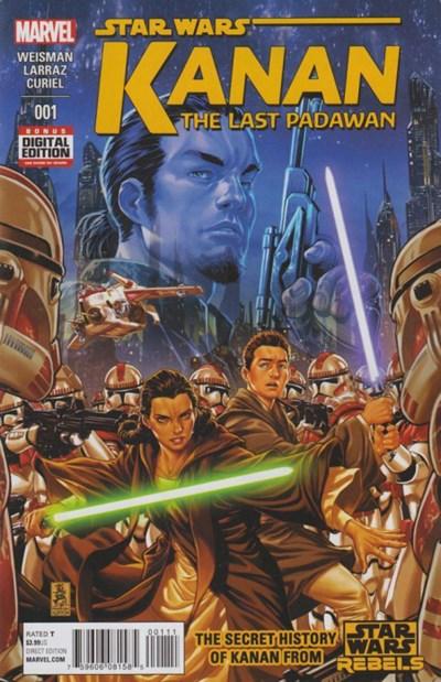 Comic Cover for Kanan - The Last Padawan (#1)