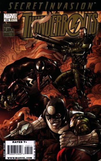 (Marvel) Cover for Thunderbolts #125 Secret Invasion Tie In