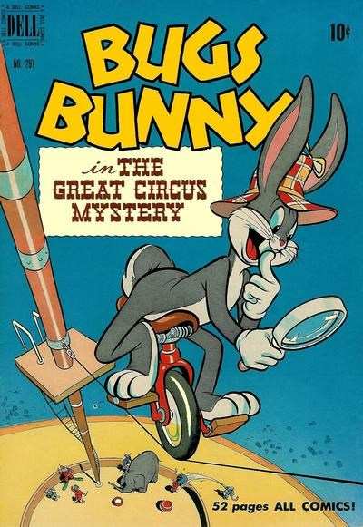 Comic Cover for Bugs Bunny (Four-Color) (#281)