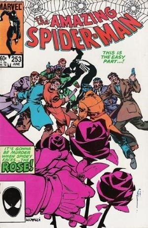 (Marvel) Cover for Amazing Spider-Man, The #253 1st Appearance of The Rose. Direct Edition