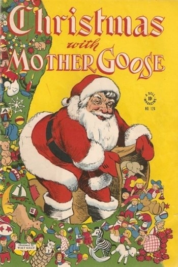 Comic Cover for Christmas With Mother Goose (Four-Color) (#126)