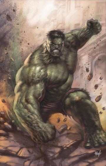 (Marvel) Cover for Immortal Hulk #20 Unknown Comics Exclusive Lucio Parrillo Virgin Variant Cover