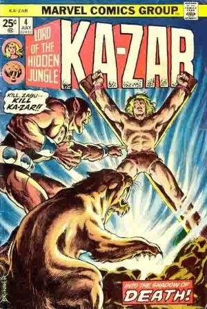 Comic Cover for Ka-Zar (#4)