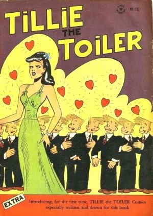 Comic Cover for Tillie The Toiler (Four-Color) (#132)
