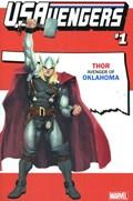 U.S.AVENGERS #1PP  Variant Cover Rod Reis Oklahoma State Variant Cover