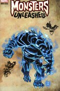 MONSTERS UNLEASHED #5C  Variant Cover Adam Kubert Monster Wraparound Variant Cover