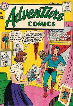 (DC) Cover for Adventure Comics #246