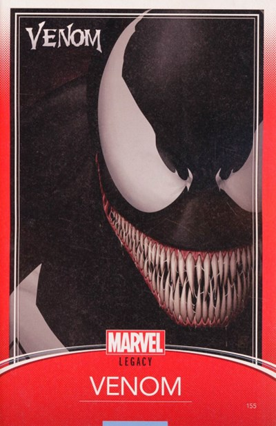 (Marvel) Cover for Venom #155 John Tyler Christopher Trading Card Variant Cover
