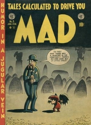 (E. C.) Cover for Mad #3