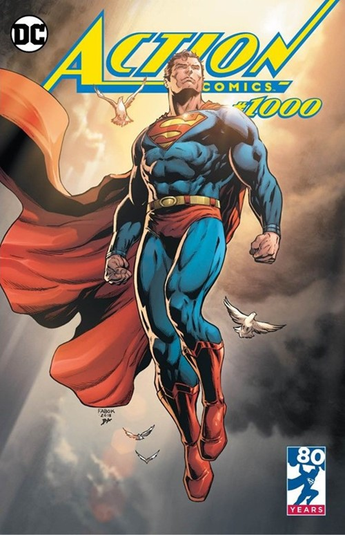 (DC) Cover for Action Comics #1000 Yesteryear Comics Exclusive Jason Fabok Variant Limited to 2500
